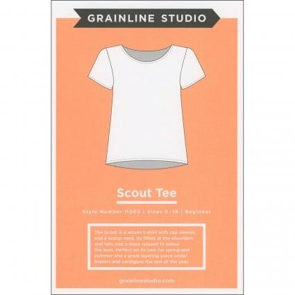 Scout Tee - Grainline Studio Printed Pattern