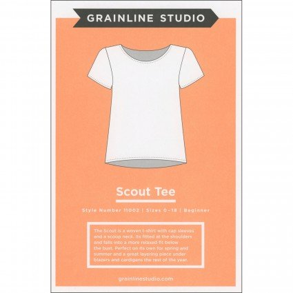 Scout Tee Pattern from Grainline Studio #GS11002