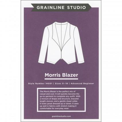 Morris Blazer - Grainline Studio Printed Pattern