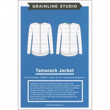 Tamarack Jacket - Grainline Studio Printed Pattern