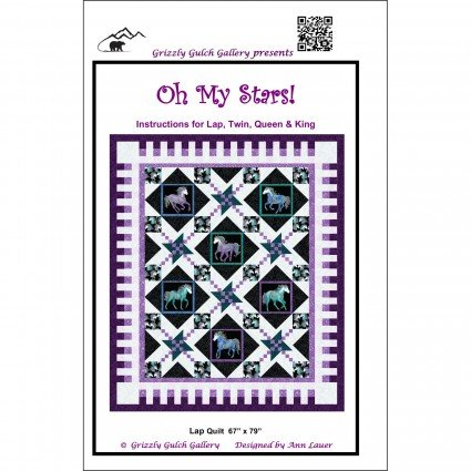 Oh My Stars Quilt Pattern