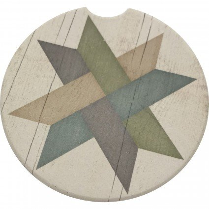 Car Coaster - 10 - Weave Star
