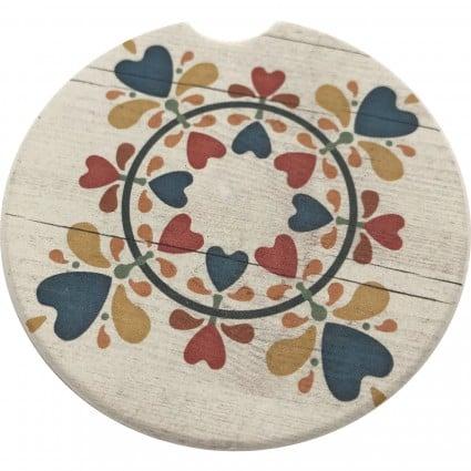 Car Coaster - 5 - Folk Art
