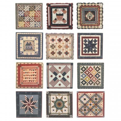 American Quilts Coasters
