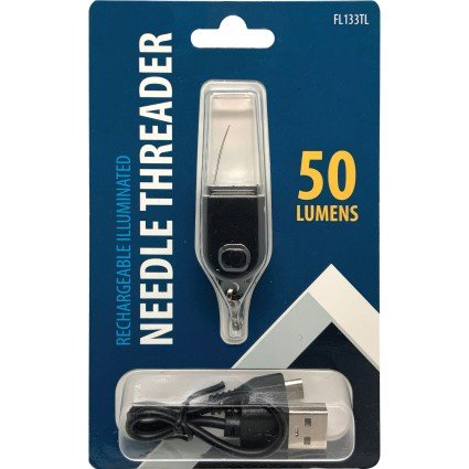 Needle Threader - Rechargeable Illuminated