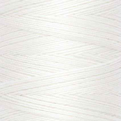Natural Cotton Thread White 60 wt
