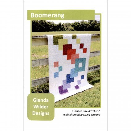 Boomerang Quilt Pattern