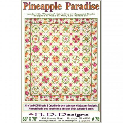 Pineapple Paradise Pattern