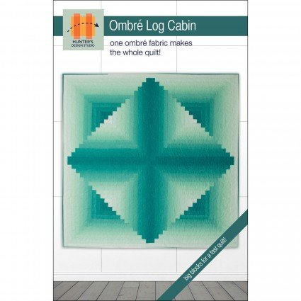 Ombr? Log Cabin