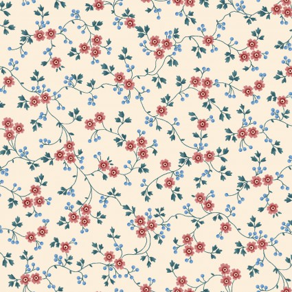 Windsor Park Cream Tiny Flowers