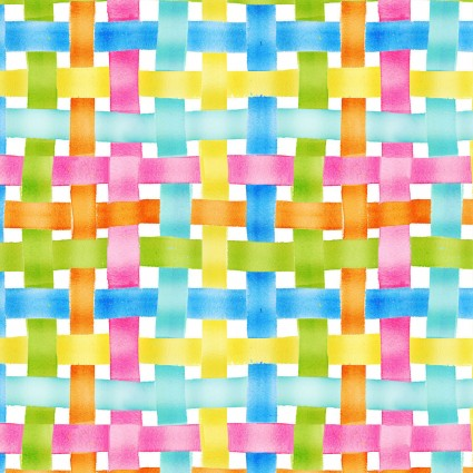 Easter Parade - Woven Plaid Multi