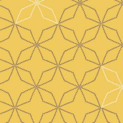 Fresh & Fab 1398-44 Gold Kaleidoscope