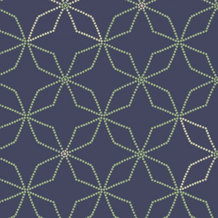 Fresh & Fab 1398-77 Blue Kaleidoscope
