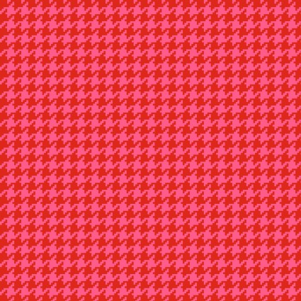 Cutie Tootie Red Houndstooth