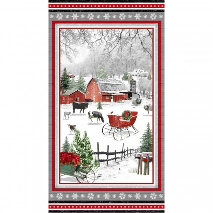 Holiday Homestead Large Panel