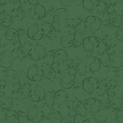 Holiday Homestead Swirl Vine - Green