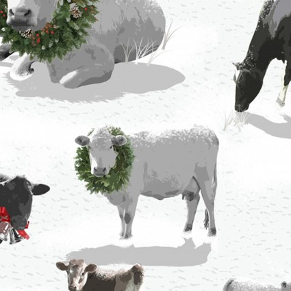 Holiday Homestead Farm Animals - Grey