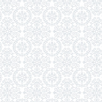 Quilter's Flour White on White Lacey Geometric