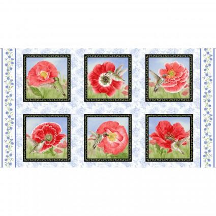 Poppy Meadow Panel
