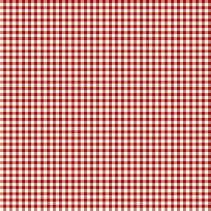 Ring in the Holly Days - Gingham Red