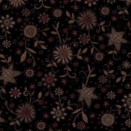Itty Bitty scattered print dark