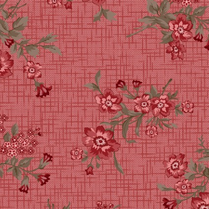Tickled Pink Pink Vintage Floral Toss