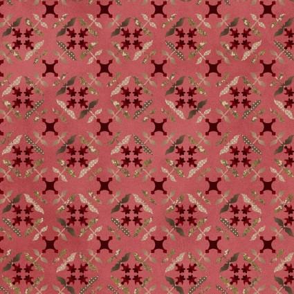 Tickled Pink Pink Tile Flowers