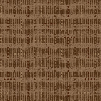 Tickled Pink Cocoa Dot Weave