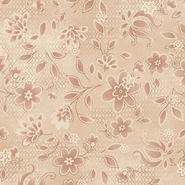 Tickled Pink Beige Floral