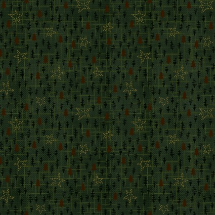 Folk Art Flannels III Tree Texture