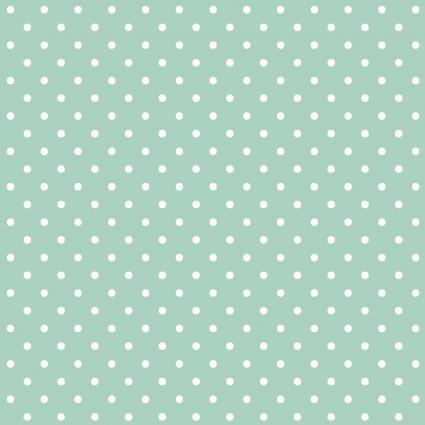 Spiced Garden Spa Blue Dots