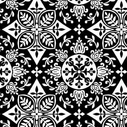 2440-99 Black & White, Black White & Red Hot