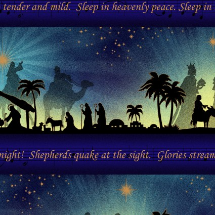 Silent Night Song Panel
