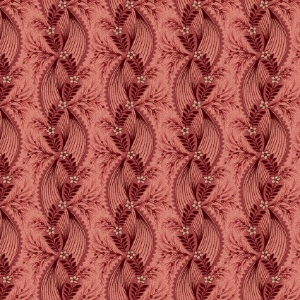 Twisted Ribbon in Red - Tarrytown