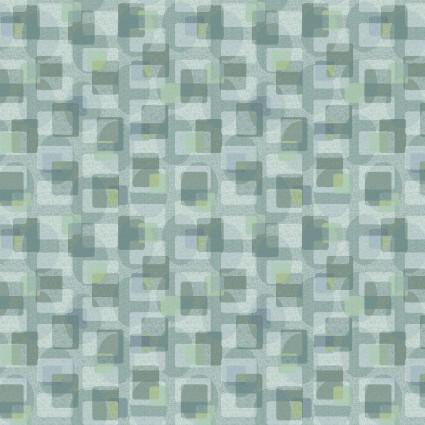 Scrap Happy Square Textile Lt Blue