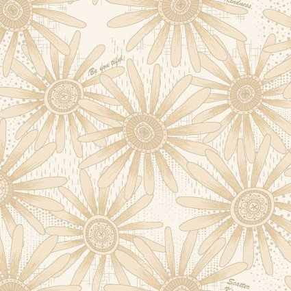 Linen Closet II-Happy Daisy White