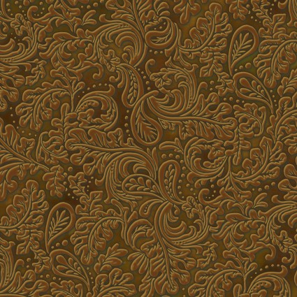 Stamped Leather Fabric Rodeo Roundup Collection by Henry Glass Fabrics