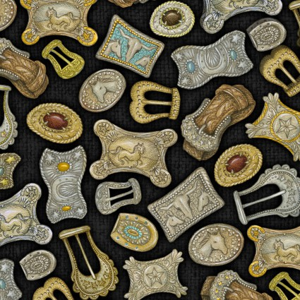 Rodeo Roundup Buckles