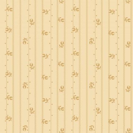 Linen Closet II-Floral Stripe - Cream