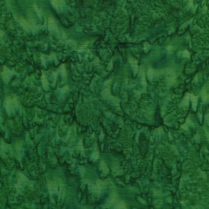 Gemstone Batik Emerald Green