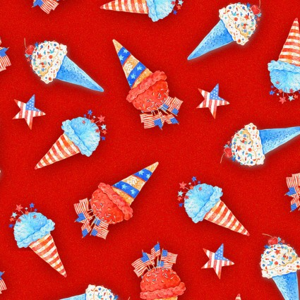 Star Spangled Summer - Ice Cream Cones