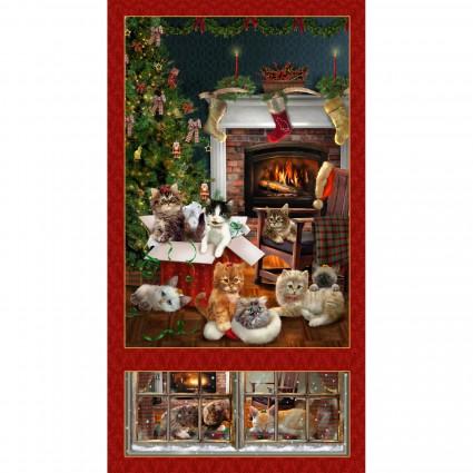 Fireside Kittens - 9055P-88