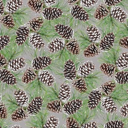Allover Pine Cone