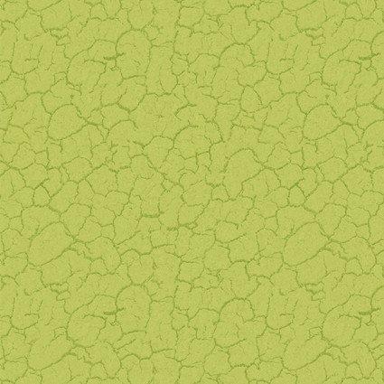Gnome is Where Your Garden Grows Green Crackle Allover