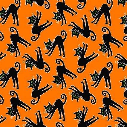 Here We Glow Orange Tossed Cats HEG9539G-39