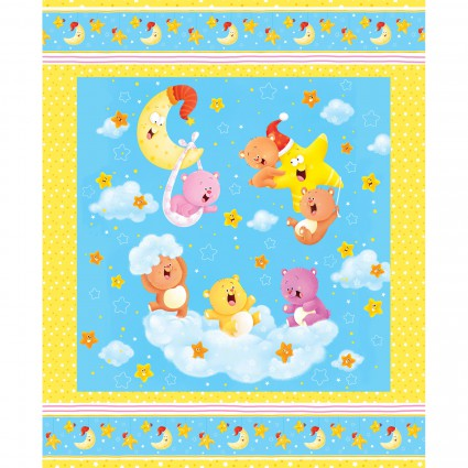 #3 WISH UPON A STAR FLANNEL PANEL 1200P 41