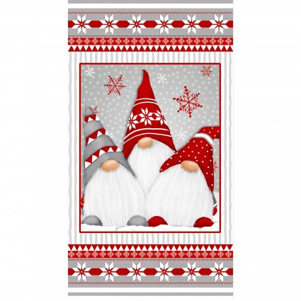 Winter Whimsy Panel - Flannel