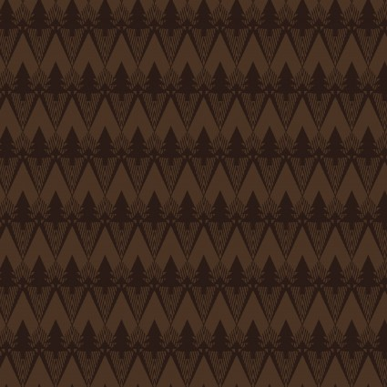 Folk Art Flannels III Mountain Texture Chocolate
