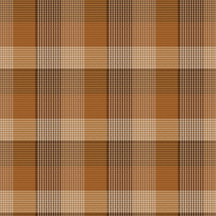 Folk Art Flannels III New Plaid Russet