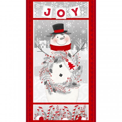 Frosty Friends 2-ply Flannel Panel